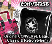 alpha red Converse Bags
